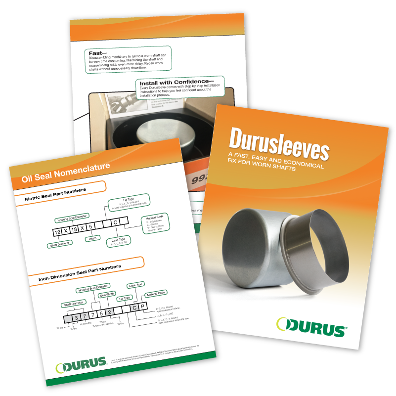 Durus Brochures Graphic